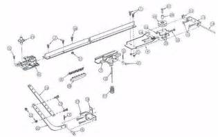 Overhead Doors Parts Locate A Part By Model Number Overhead Door Legacy 496cd B And 696cd B Overhead Door