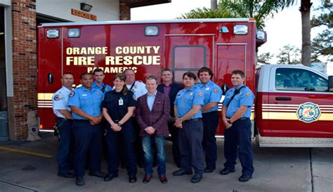 orange county rescue orange county rescue continues partnership with international paramedic students