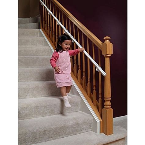 baby gate banister mount kidco carerails 174 banister mount kit bed bath beyond