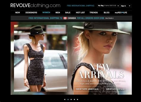 7 Favorite Fashion Websites by Top 25 Best Shopping For