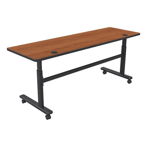 Adjustable Table L Balt Adjustable Height Flipper Table Rectangle 24 Quot W X 72 Quot L At School Outfitters