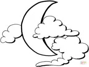 crescent moon coloring page getcoloringpages com