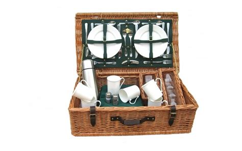 amberley chiltern 6 person picnic basket gardenlines