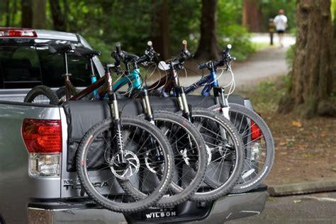 Tailgate Bike Mat by Hitch Mounted Bike Rack Shuttle Pad Truck Tailgate Pad