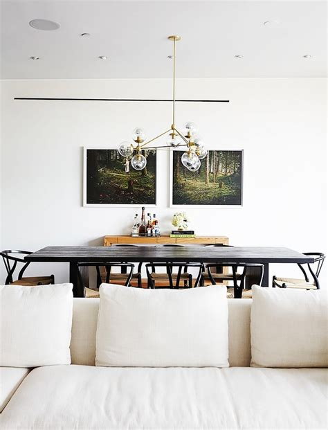 17 best ideas about black dining tables on