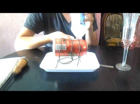 barco a vapor youtube experimento de termodinamica quot barco de vapor quot youtube