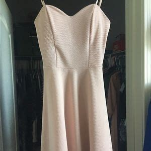 light pink fit and flare dress 47 dresses skirts pink fit and flare dress from