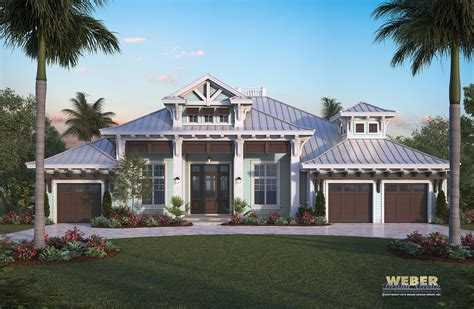 harbor house plan luxury caribbean home outdoor