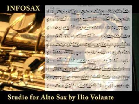 ilio volante infosax by ilio volante studio for alto saxophone