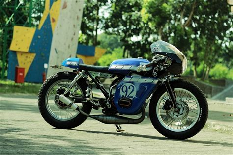 modif rx king retro yamaha rx king 135 cafe racer bikebound