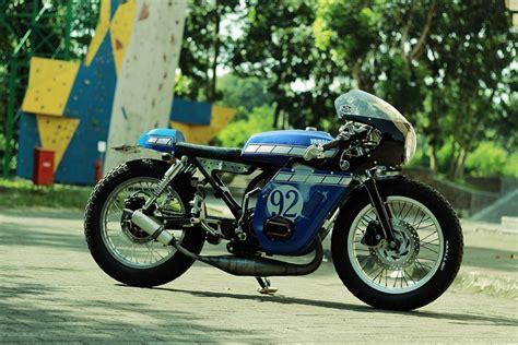 Yamaha Rx King Engine yamaha rx king 135 cafe racer bikebound