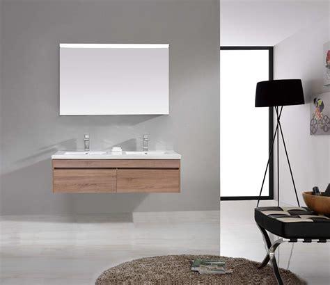wall hung bathroom vanities ibiza 1500mm white oak timber wood grain wall hung