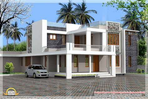 modern 5 bedroom house designs gallery and flat roof homes
