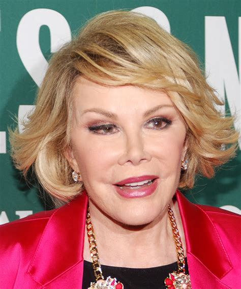 Joan Rivers Hairstyles by Joan Rivers Formal Hairstyle With Side