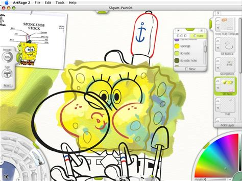 painting spongebob snap painting process spongebob cover for
