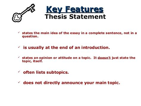 and bad thesis statements list of and bad thesis statements