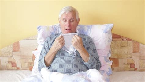 algerian men in bed man coughing stock footage video shutterstock