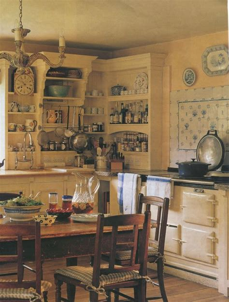 country cottage kitchen from traditional home - Cottage Kitchens Magazine