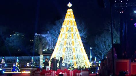 first family lights national christmas tree nbc 10