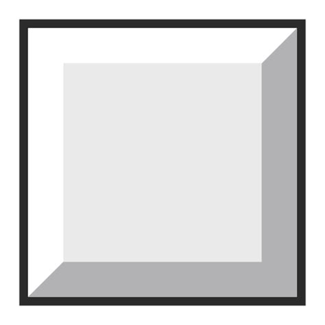 Seven Square Large White White Large Square Emoji For Email Sms Id