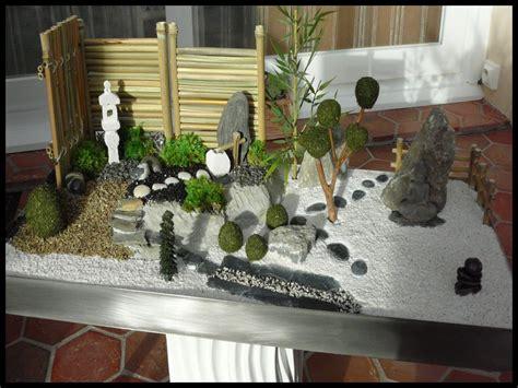 Jardin Zen Miniature by Decoration Jardin Japonais Miniature