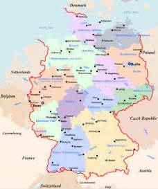 map of europe germany germany map travel
