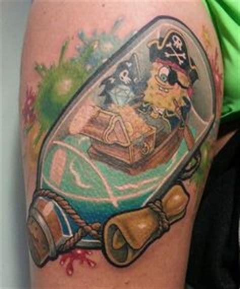 spongebob mom tattoo portrait on tattoos
