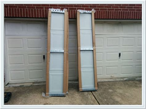 Replace Garage Door Panel With Window by Panel Replacement M G A Garage Door The Woodlands Tx