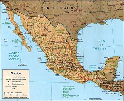 map of the mexico mexico