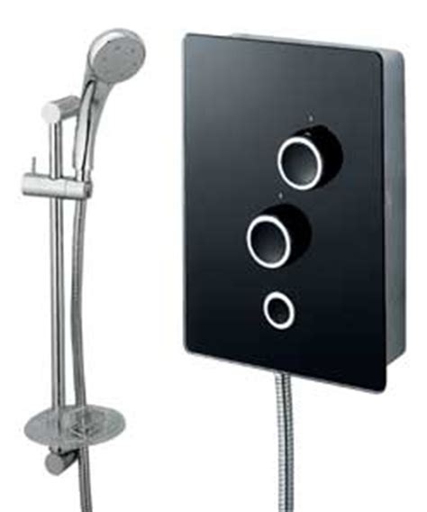 8 5 Kw Or 9 5 Kw Shower by Triton 9 5kw Black Glass Electric Shower Review Compare