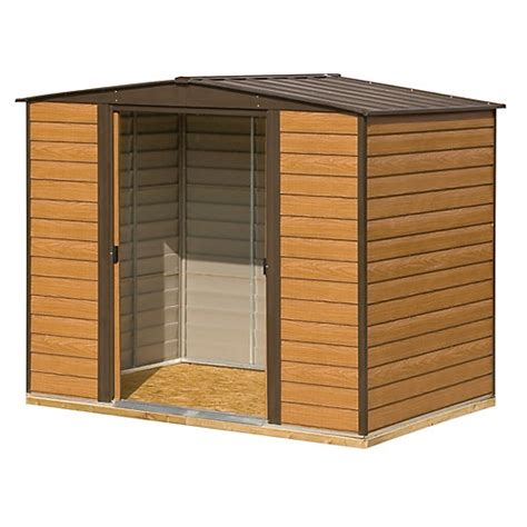 10 X 6 Shed Floor - rowlinson woodvale metal apex shed with floor 10 x 6 ft