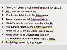 Free German: Deutsch lernen kostenlos: Leseverstehen ... Ilder Leseverstehen