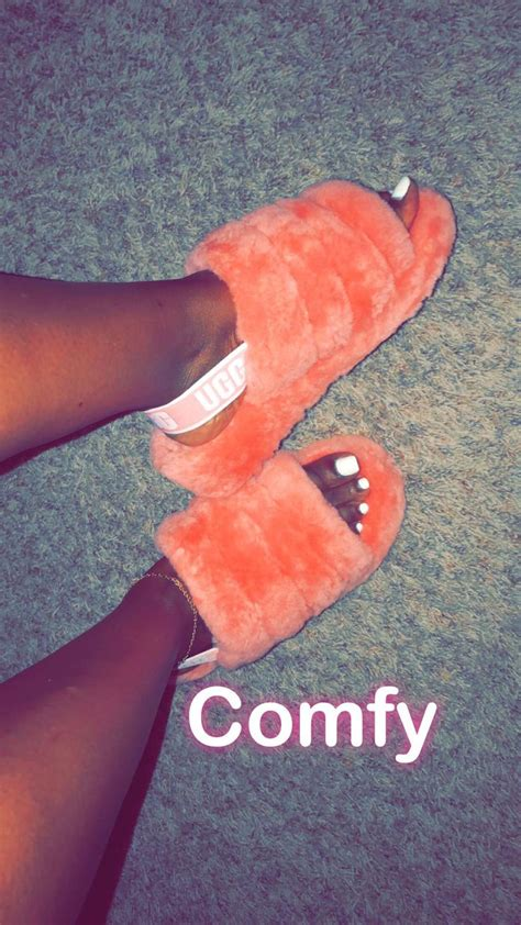 comfy womens fluff yeah  sandal pretty shoes