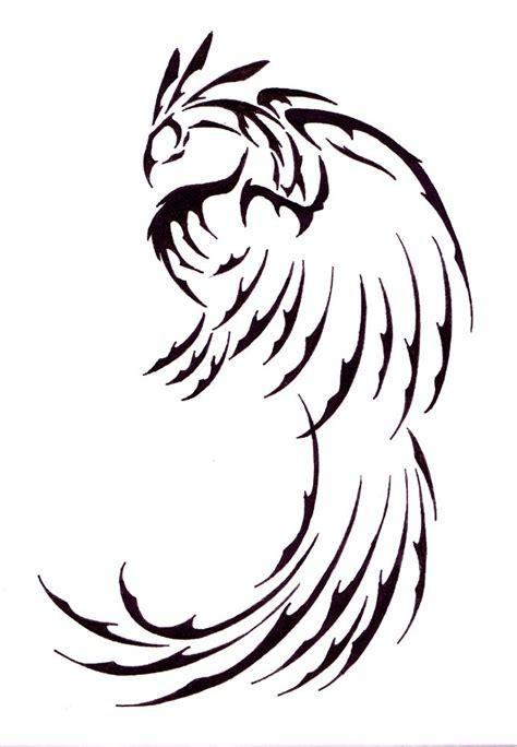 tattoo phoenix tribal tribal phoenix tattoo tribal phoenix by generic username