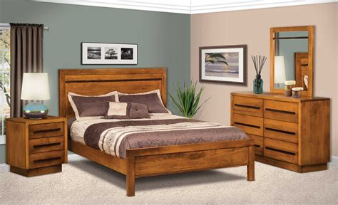 Marquette Bedroom Collection Nightstand Amish - broadway 3 drawer nightstand amish direct furniture