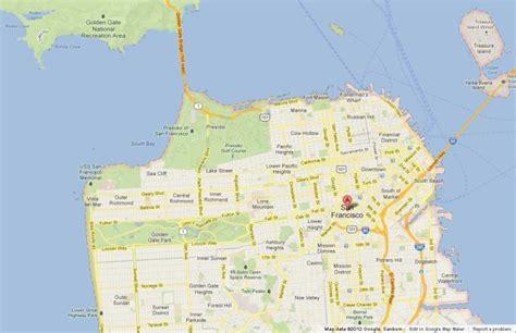 san francisco easy map san francisco beautiful city in california world easy guides