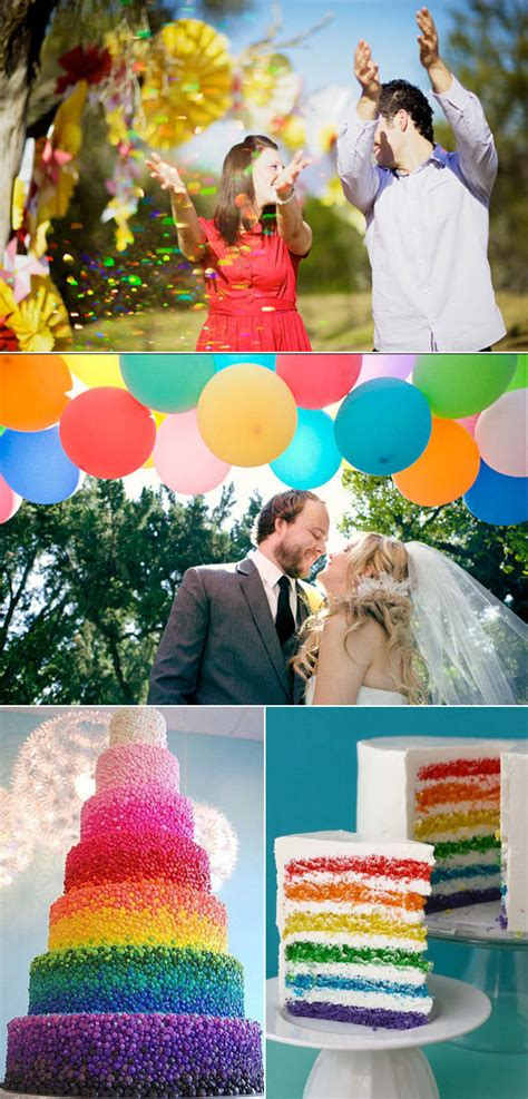 what your wedding color says about your personality bridalguide