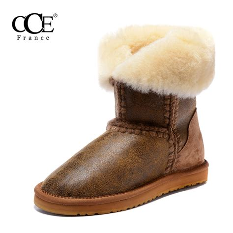 Fur Sandal Best Quality free shipping gt 2016 cce fashion top quality genuine leather sheepskin fur keep warm winter