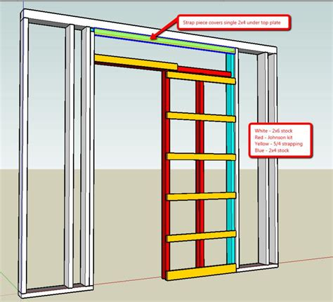 How To Build A Pocket Door Frame by Pocket Door Jamb Kit Picture Of 1500sc Series Soft