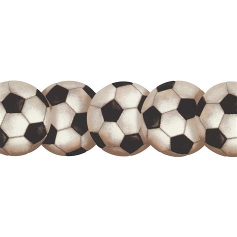 York Wallcoverings Inspired By Color Soccerball Wallpaper