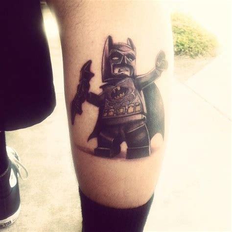 tattoo lego batman 40 best tattoos comic book tattoos images on pinterest