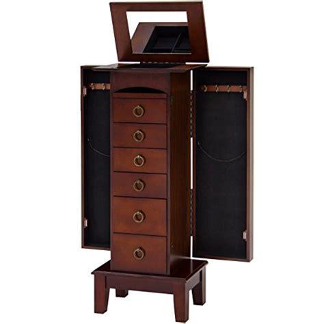 tall standing jewelry armoire elegant tall wooden floor standing jewelry armoire