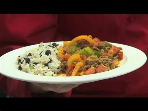 what can i cook with ground turkey black beans rice