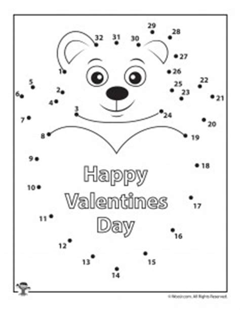 printable valentine dot to dot printable valentine s day dot to dot puzzles woo jr