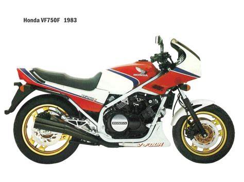 honda vf honda vf 750 f photos and comments www picautos com