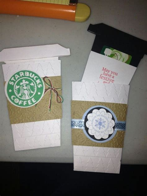 Coffee Cup Gift Card Holder - coffee cup gift card holder crafting gift ideas pinterest
