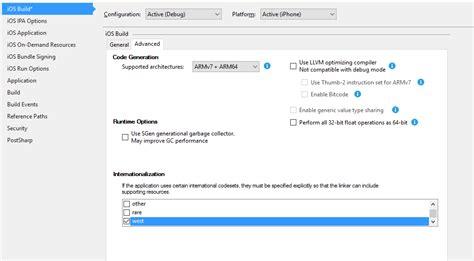 xamarin layout land no data available for encoding 1252 xamarin