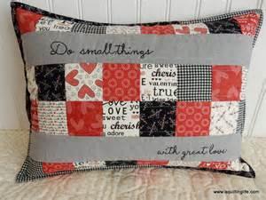quilting pillow tutorial valentines pillow tutorial a quilting life a quilt blog