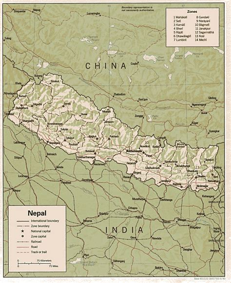 middle east map nepal nepal