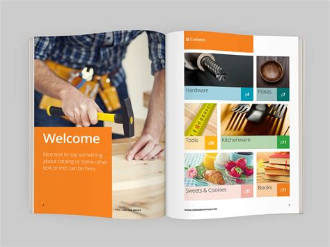 product catalog design templates free product catalog indesign template indiestock